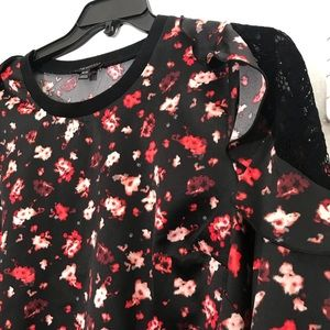 Lane Bryant Tops - Lane Bryant Flower Pattered Top